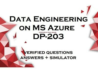 DP-203 verified practice exam questions answers - Simulator