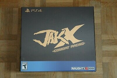 NEUF / NEW :  Jak X Combat Racing PS4 -- Collector's Edition -- LRG Limited Run
