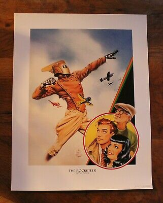 Dave Stevens The Rocketeer print