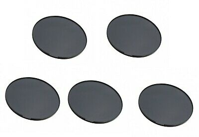 5x Dashboard Dash Disc Disk Plates For GPS Tomtom Garmin Holder Suction Cup 80mm