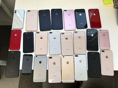 23 Mixed Apple iPhones  For Parts  Repair Only - LOT PLEASE READ DESCRIPTION