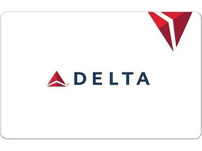Delta Airlines Gift Card 500 Value Brand New