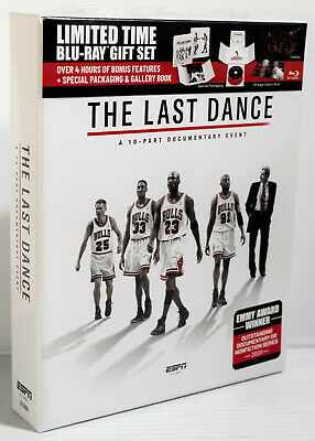 THE LAST DANCE a 10-Part Documentary Event ESPN Limited Time BLU-RAY GIFT SET