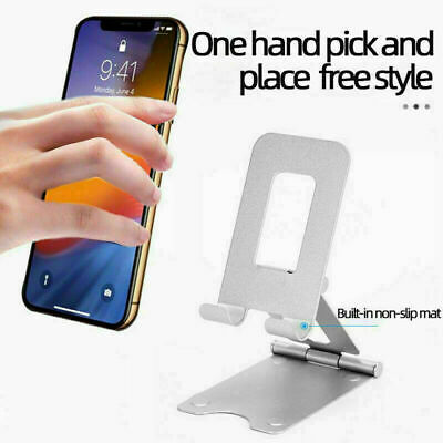 Mobile Phone Holder Stand Alloy Metal Tablet Stand Phone Holder For iphoneipad