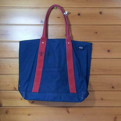 JACK SPADE Mens Tote Bag Blue Fast Free Shipping from Japan With Tracking K2840