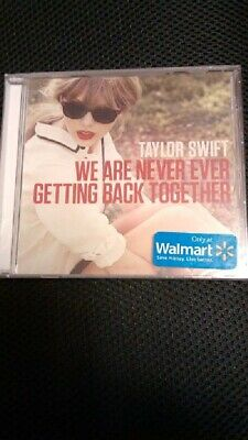TAYLOR SWIFT We Are Never Ever Getting Back Together  Walmart Excl- 1 track CD