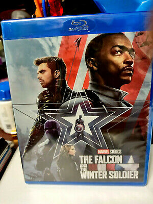 The Falcon - the Winter Soldier 2021 Collectible  NEW Marvel Disney BLURAY