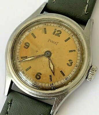 Piaget Vintage Military style