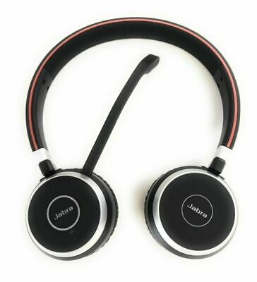 Jabra Evolve 65 UC Stereo Bluetooth Headset with Link 370 6599-829-409