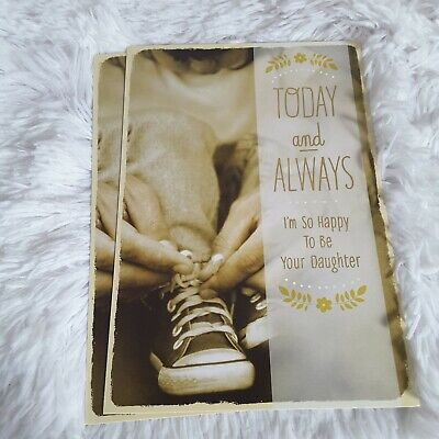 Hallmark Happy Fathers Day Happy To Be Your Daughter Greeting Cards