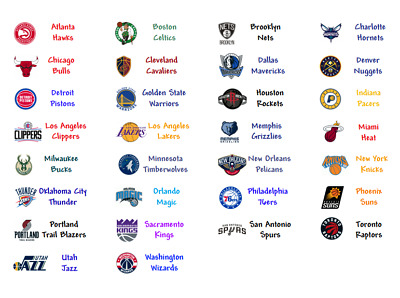30 Customized Nba Labels for BCW tall Dividers 34 x 1 34 SALE