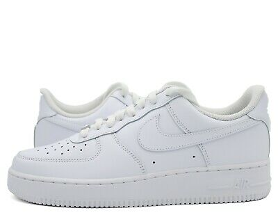 Nike Air Force 1 07 Low Triple Mens Kid White CW2288-111 Authentic WhiteWhite