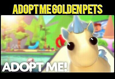 ADOPT ME ALL GOLDEN PETS 1-75 normal-ride-fly-flyride LIMITED TIME SALE