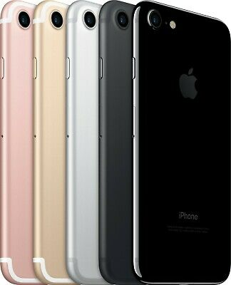 Apple iPhone 7 - 32GB  Black T-mobile Sprint A Stock