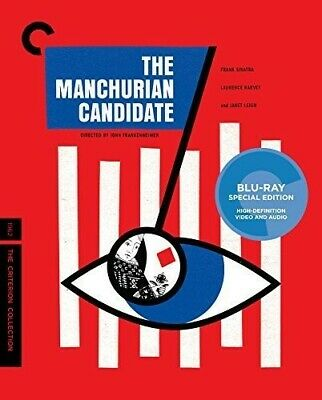 The Manchurian Candidate Criterion Collection Used Very Good Blu-ray