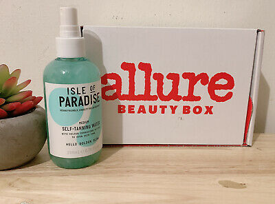 Isle of Paradise Self-Tanning Water In Medium-Golden Glow 6-76oz NEW Full Size