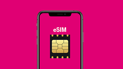 Instant Activation 30GB data Unlimited Talk - Text eSIM T-Mobile