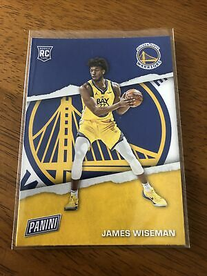 2021 Panini Fathers Day RC2 James Wiseman - Golden State Warriors