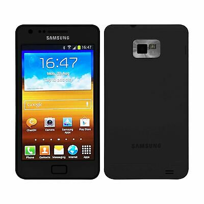 Samsung Galaxy S2 I9100 Cellular Android Mobile Phone 16GB Black UK Unlocked