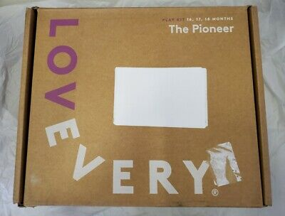 LOVEVERY PLAY KIT THE PIONEER FOR 16 17 18 MONTH KIDS