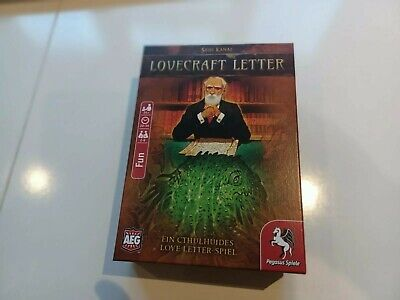 Pegasus Spiele LOVECRAFT LETTER Card Game