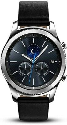 Samsung Galaxy Gear S3 Classic 46 mm Stainless Steel Silver Case and Black-