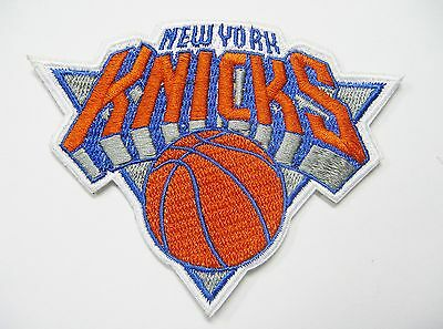 LOT OF 1 NBA NEW YORK KNICKS EMBROIDERED PATCH PATCHES ITEM  120