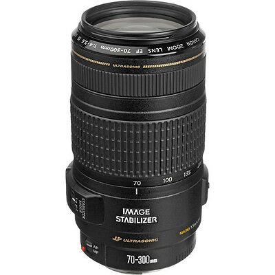 Canon Zoom Telephoto EF 70-300mm f4-5-6 IS USM Lens