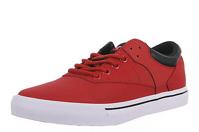 NEW Supra Spectre Griffin Mens Shoes Red Black White Skate Vulcanized SP25002