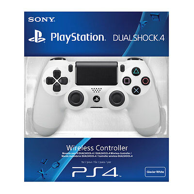 Official Sony PlayStation 4 PS4 Dualshock 4 Wireless Controller White New