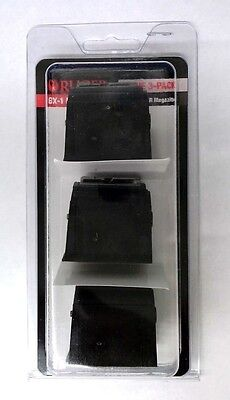 Ruger 1022 Magazine 10 Round 22LR Value 3 Pack BX-1 Factory OEM Clip NEW 90451