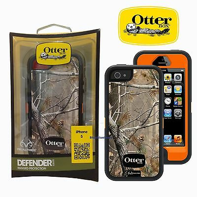 New OtterBox Defender Series Case For Apple iPhone 55sSE AP Blazed -No Holster