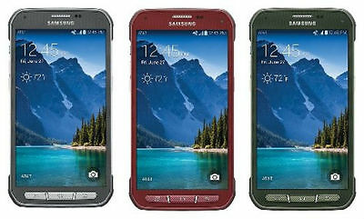Samsung Galaxy S5 Active 4G LTE SM-G870A 16GB GSM AT-T Unlocked SmartPhone - SR