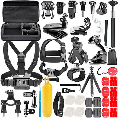 Neewer 58-In-1 Essential Outdoor Sport Accessory Kit for GoPro Hero 45 Session