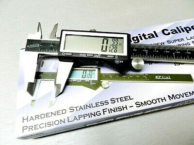 iGaging Digital Electronic Caliper 6 Precision 3 Way Reading Large LCD EZ Cal B