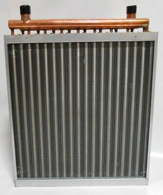 20x20 Water to Air Heat Exchanger Hot Water Coil Outdoor Wood Furnace
