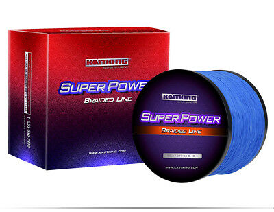 KastKing SuperPower 1373005001000M Braided Fishing Line 8LB-150LB Superline