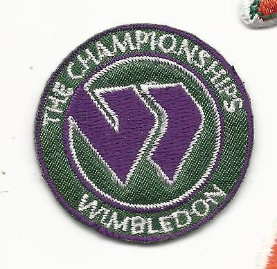 New Wimbledon The Championships Round 1 12 Iron on Tennis Patch