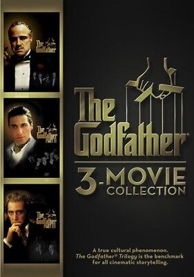 The Godfather 3-Movie Collection New DVD Dubbed Subtitled Widescr