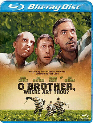 O Brother Where Art Thou New Blu-ray Subtitled Widescreen