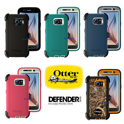 OtterBox Defender Case for Samsung Galaxy S6 w Holster - Retail Package - New