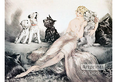 Perfect Harmony by Louis Icart Art Print of Vintage Art