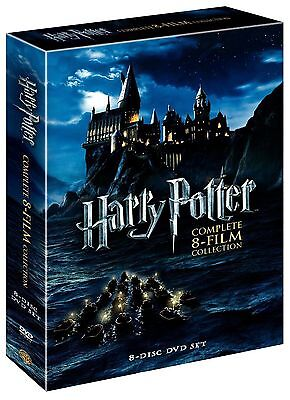 Harry Potter Complete 8-Film Collection DVD 8-Disc Set NEW 1ST CLASS SHIPPING