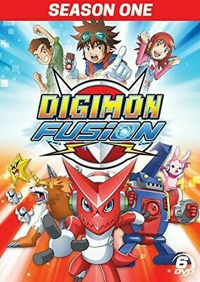 Digimon Fusion Season 1 New DVD Boxed Set Widescreen