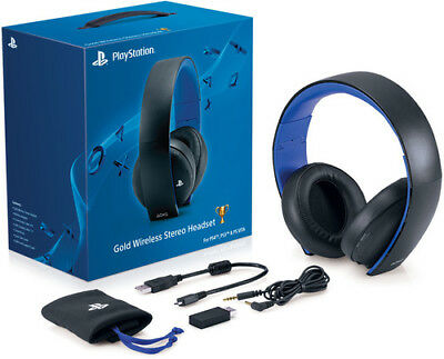 Sony Gold Wireless Stereo Headset for PlayStation 4