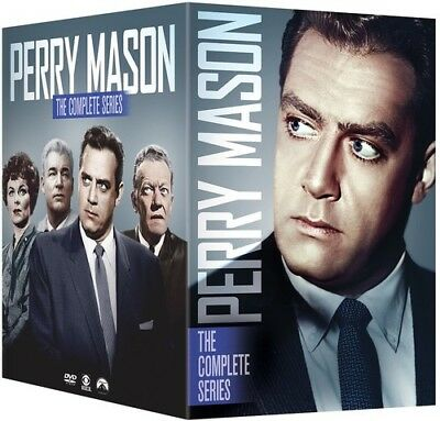 Perry Mason The Complete Series New DVD Boxed Set Full Frame Slipsleeve P