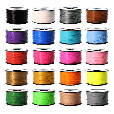 Premium 3D Printer Filament 1kg2-2lb 1-75mm 3mm PLA ABS PETG TPU Wood MakerBot