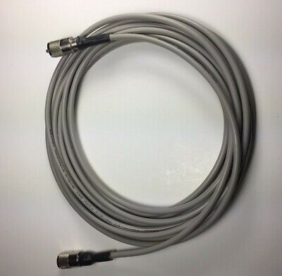 RG-8X COAX CABLE JUMPER 18 FT SEALED PL-259s USA MADE PROFESSIONAL CB HAM RADIO