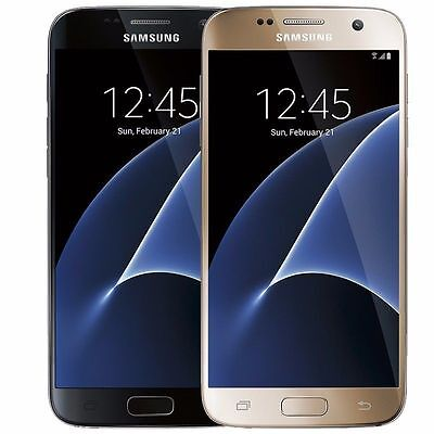 Samsung Galaxy S7 32GB Verizon  Straight Talk  Unlocked ATT GSM Black Gold