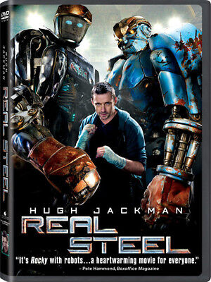 Real Steel New DVD Subtitled Widescreen
